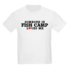 Fish Camp: Loves Me Kids T-Shirt