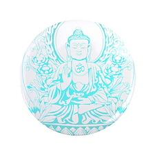 """Gautama Buddha 3.5"""" Button"""