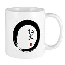 """Enso with Chinese for """"Bitch"""" Mug"""