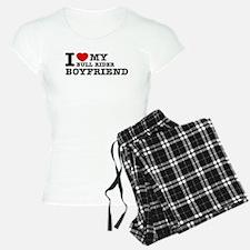 I love My Bull Rider Boyfriend Pajamas