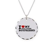 I love My Bull Rider Boyfriend Necklace
