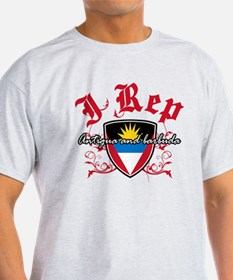 I Rep Antigua And Barbuda T-Shirt
