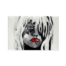 Courtney Love Rectangle Magnet