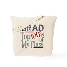 Funny GRAD Top 100% Tote Bag