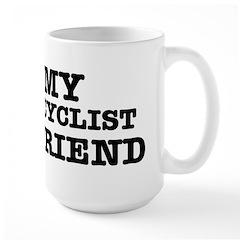 I love My Cyclist Boyfriend Mug