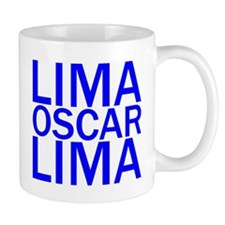 LOL-Blue Mug