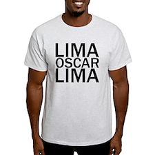 LOL-Black T-Shirt