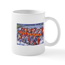 Niagara Falls Greetings Coffee Mug