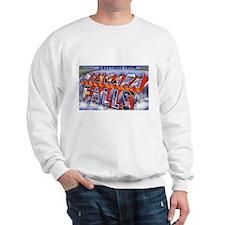 Niagara Falls Greetings (Front) Sweatshirt