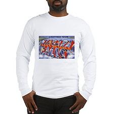 Niagara Falls Greetings Long Sleeve T-Shirt