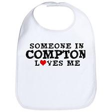 Compton: Loves Me Bib