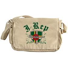 I Rep Dominica Messenger Bag