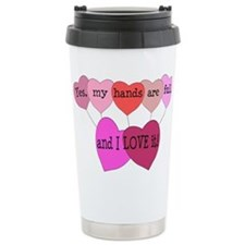 Yes, my hands are full, and I LOVE it! Travel Mug