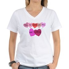 Yes, my hands are full, and I LOVE it! Shirt