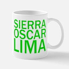 SOL-Green Mug