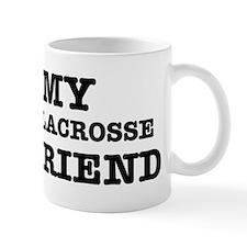 I love My Lacrosse Boyfriend Mug