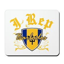 I Rep Barbados Mousepad