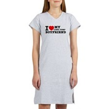 I love My Long Jump Boyfriend Women's Nightshirt