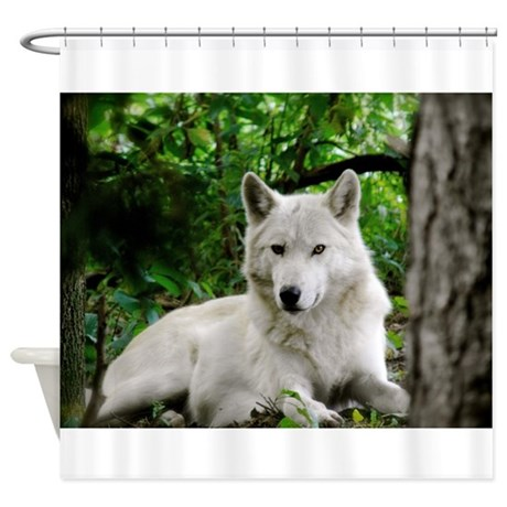 Silver Chief Shower Curtain