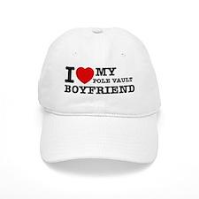 I love My Pole Vault Boyfriend Baseball Cap