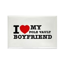 I love My Pole Vault Boyfriend Rectangle Magnet