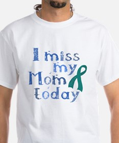 Funny Ovarian cancer mother Shirt