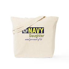 Navy Daughter.png Tote Bag