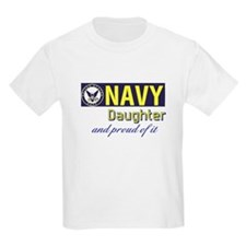 Navy Daughter.png T-Shirt