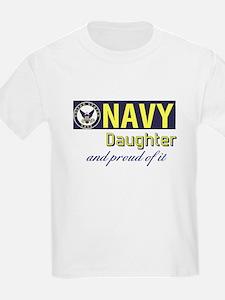 Navy Daughter.png T-Shirt