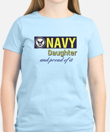 Navy Daughter.png Women's Light T-Shirt