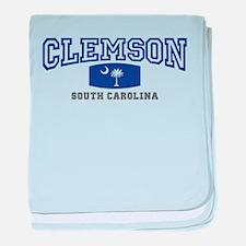 Clemson South Carolina, SC, Palmetto State Flag ba