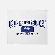Clemson South Carolina, SC, Palmetto State Flag S