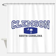 Clemson South Carolina, SC, Palmetto State Flag Sh