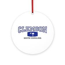 Clemson South Carolina, SC, Palmetto State Flag Or