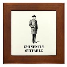 Eminently Suitable Framed Tile