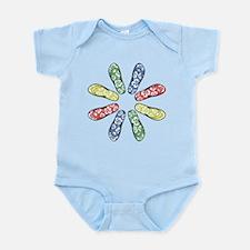 Flower Flops Infant Bodysuit