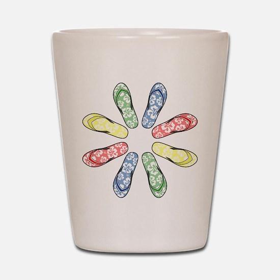 Flower Flops Shot Glass