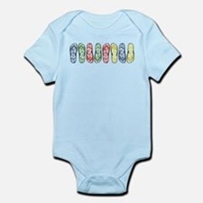 Rainbow Flops Infant Bodysuit