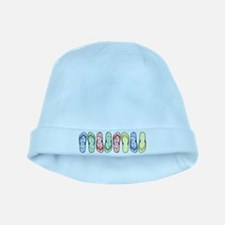 Rainbow Flops baby hat