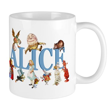 Alice & Friends in Wonderland Mug