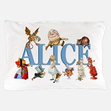 Alice & Friends in Wonderland Pillow Case