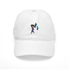 3D Guatemala Baseball Cap