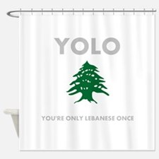 Cute Lebanese Shower Curtain