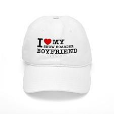 I love My Snow Boarder Boyfriend Baseball Cap