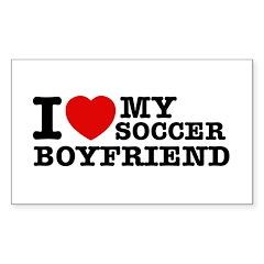 I love My Soccer Boyfriend Decal