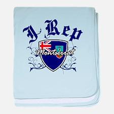 I Rep Montserrat baby blanket