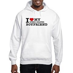I love My Speed Skater Boyfriend Hoodie