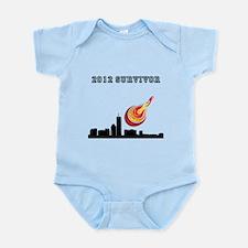 2012 SURVIVOR. Infant Bodysuit