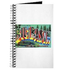 Redwood Big Basin Greetings Journal
