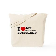 I love My Volleyball Boyfriend Tote Bag